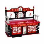 Wildkin Wildkin Firefighter Bench Seat w/ Storage