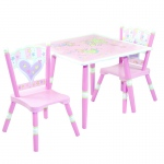 Wildkin Levels of Discovery Fairy Wishes Wildkin Wildkin Fairy Wishes Table & 2 Chair Set