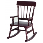 Wildkin Levels of Discovery Cherry Finish Wildkin Wildkin Emerson Rocking Chair - Cherry Finish