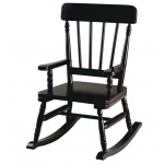 Wildkin Levels of Discovery Wildkin Wildkin Emerson Rocking Chair - Espresso