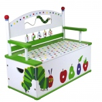 Wildkin Wildkin Very Hungry Caterpillar Bench Seat w/ Storage