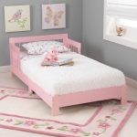 Kidkraft Houston Toddler Bed - Pink: Fits most crib mattresses