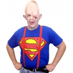 Goonies Sloth Adult Costume: Red/Blue, Large, Everyday, Male, Adult