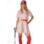Rockford Peaches Adult Costume: Peach, Standard, Everyday, Female, Adult