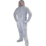 Wilfred Deluxe Adult Costume: Gray, One-Size, Everyday, Male, Adult