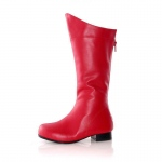 Shazam (Red) Child Boots: Red, X-Large, Everyday, Unisex, Child