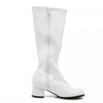 Dora (White) Child Boots: White, Large, Everyday, Female, Child