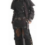 Forum Novelties Authentic Western Holsters And Belt With Leg Ties Adult One-Size