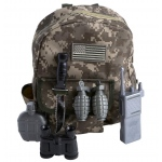 BuySeasons Gear to Go - Army Ranger Adventure Play Set One-Size