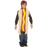 Hot Dog Child Costume: Brown, One-Size, Everyday, Unisex, Child