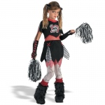Cheerless Leader Child Costume - Medium (7-8)