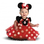 Disney Red Minnie Mouse Infant Costume - 6/12 Months
