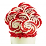 Red and White Whirly Pops (8): Red and White, Birthday