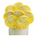 Yellow and White Whirly Pop (1): White/Yellow, Birthday