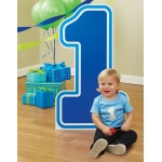 Advanced Graphics #1 Blue Birthday Standup Blue
