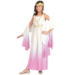 Athena Child Costume: White, Medium, Everyday, Female, Child