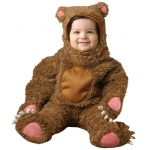 Bear Deluxe Infant / Toddler Costume: Brown, 2/4T, Everyday, Male, Toddler
