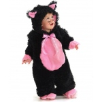 Black Kitty Infant / Toddler Costume - XX-Small (18M-2T)