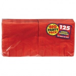 Amscan Apple Red Big Party Pack Lunch Napkins Red
