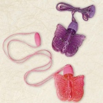 Amscan Butterfly Bubble Necklace Assorted