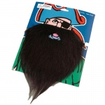 US Toy Fake Pirate Beard and Moustache Black