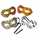 Rhode Island Novelty Animal Print Mask Various - color may vary
