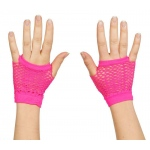 Rhode Island Novelty Neon Fishnet Fingerless Wrist Glove Various - color may vary