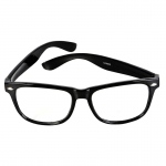 Rhode Island Novelty Nerdy Glasses Black