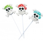 Rhode Island Novelty Pirate Lollipops Various - color may vary