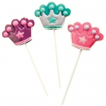 Princess Lollipops (12): Various - color may vary, Birthday
