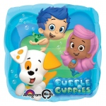 Bubble Guppies Foil Balloon: Blue, Birthday