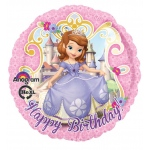 Disney Junior Sofia the First Foil Balloon: Multi-colored, Birthday