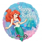Disney The Little Mermaid Sparkle Foil Balloon: Blue, Birthday