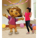 Dora The Explorer Airwalker Foil Balloon: Birthday