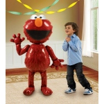 "Elmo Airwalker 54"" Foil Balloon: Red, Birthday"