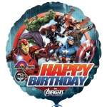 "The Avengers 18"" Foil Balloon: Black, Birthday"