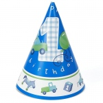 Birthday Express Boy's Little 1 Birthday Cone Hats