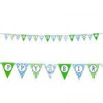 Birthday Express 1st Birthday Boy Ribbon Flag Banner