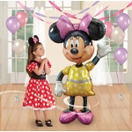 "Birthday Express 54"" Disney Minnie Airwalker Jumbo Balloon"