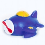 Birthday Express Airplane Squirt Toy Blue