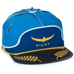 Airplane Trucker Hat (1): Blue/Yellow, Birthday