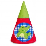 Birthday Express Alligator Cone Hats
