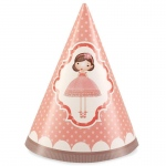 Birthday Express Ballerina Tutu Cone Hats
