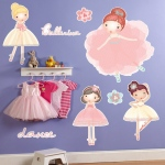 Birthday Express Ballerina Tutu Giant Wall Decals