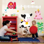 Birthday Express Barnyard Giant Wall Decals