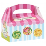 Candy Shoppe Empty Favor Boxes (4): Birthday