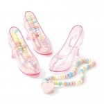 Birthday Express Candy-Filled Crystal Shoes Pink