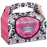 Birthday Express Elegant Princess Damask Empty Favor Boxes
