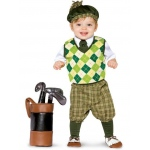 Future Golfer Infant / Toddler Costume: Green, Infant, Everyday, Male, Infant
