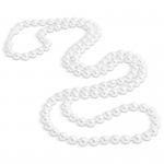 Faux-Pearl Necklaces (8): Pearl White, Birthday